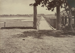 No. 45. Amerapoora. Wooden Bridge.